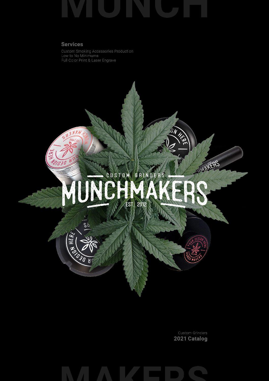 MunchMakers – Best Custom Grinders for Wholesale and Dispensaries